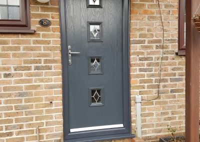 door anthracite grey