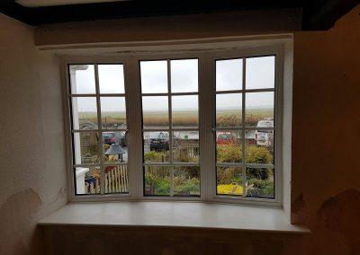 window aluminium slimline